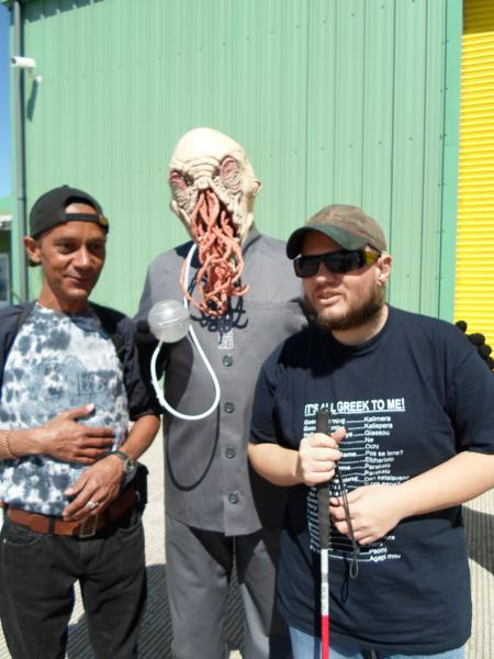 Warren & Tony with ood from Dr Who