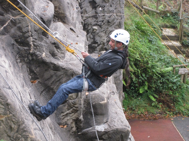 Warren abseiling 30th October 2012