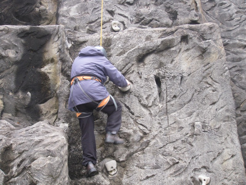 June rock climbing