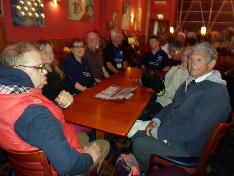 EnergEyes members enjoying a relaxing break at The King of Wessex pub, Bath