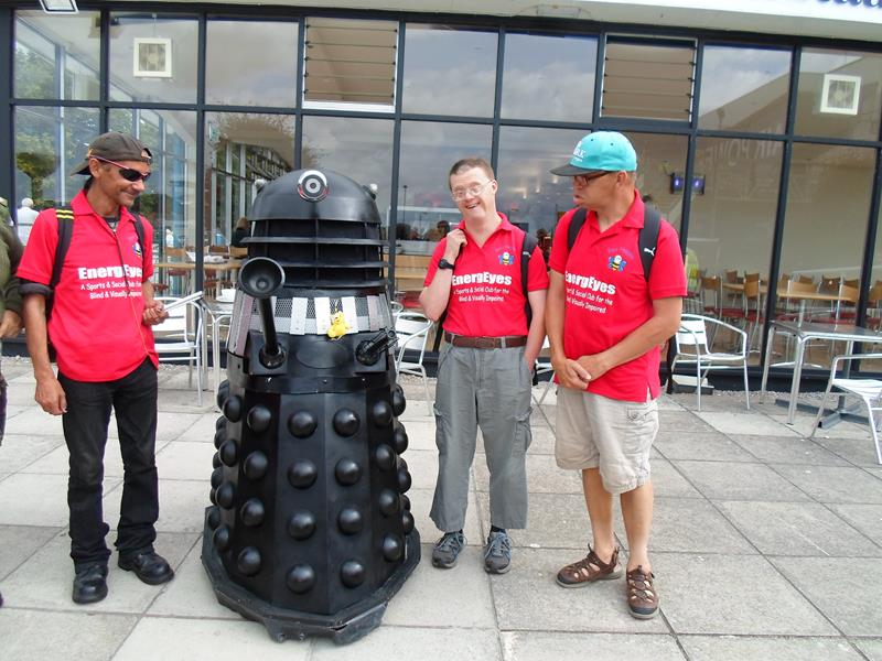 Warren, Dalek, Andrew & James