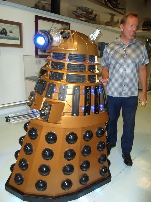 One of the Dalek's on the move
