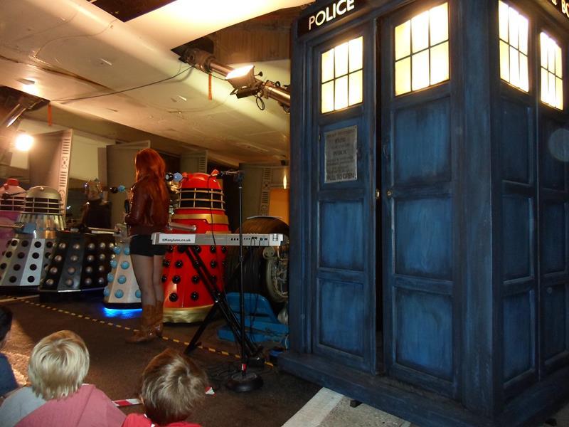 A few Daleks and the Tardis