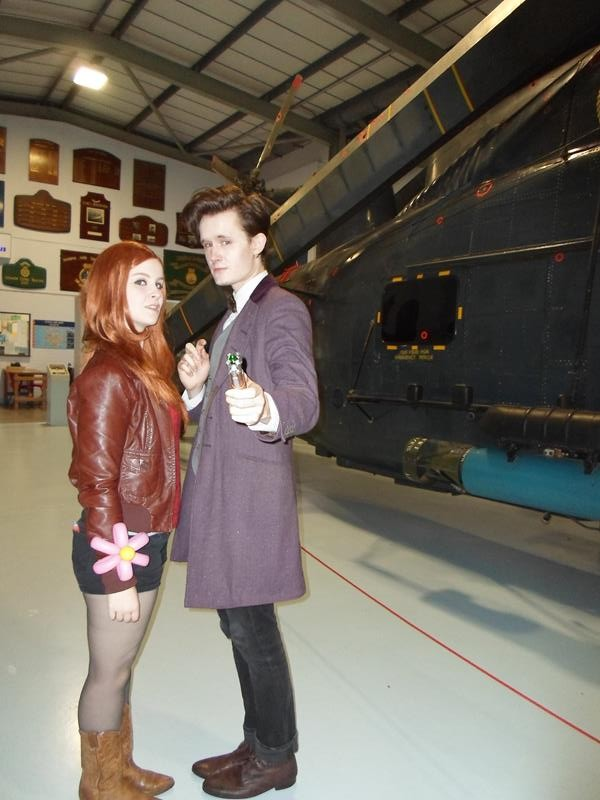 Dr Who and friend