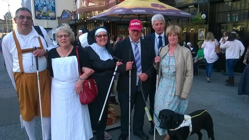 Ann, Kym, Ernest, Orla, Spud and Jean