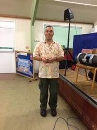 Ian, our dance  caller