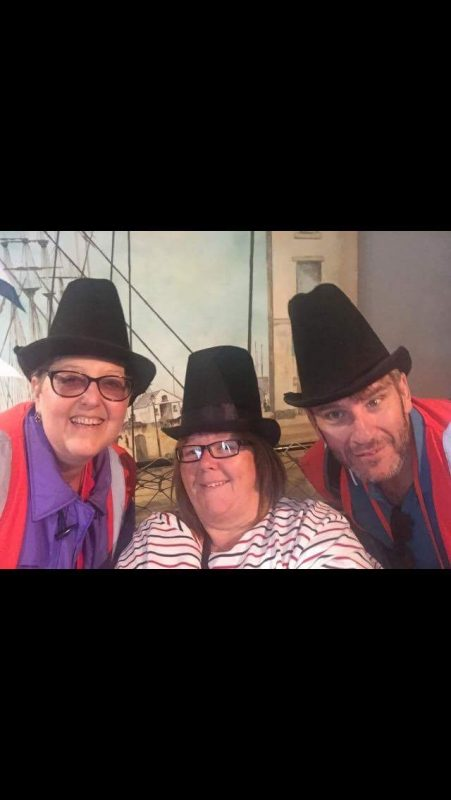 Kym, Donna & Alan