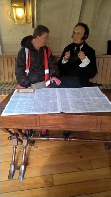 Andrew and Isambard Kingdom Brunel
