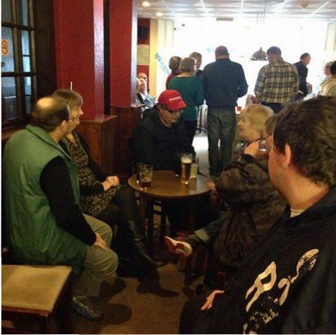 Members chatting