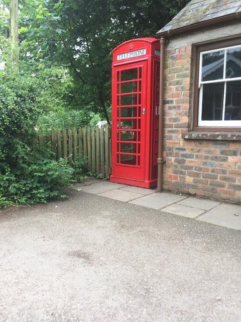 Blaenwaun telephone box.
