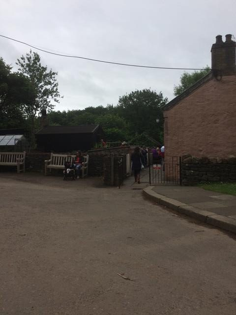 Side view of Kennixton Farmhouse