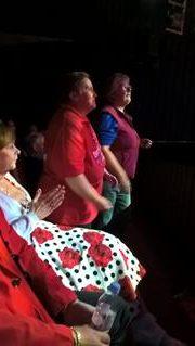 JULIE & JAYNE, LOVE JULIE'S DRESS!