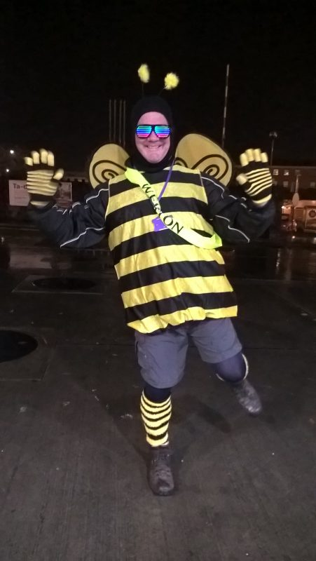 STEVE MERCHANT, WHAT A LOVELY BEE HE IS!