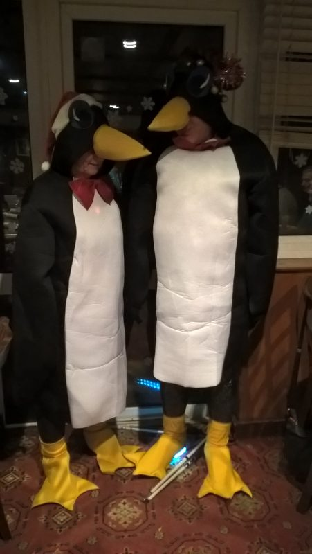 OUR PENGUINS CHATTING
