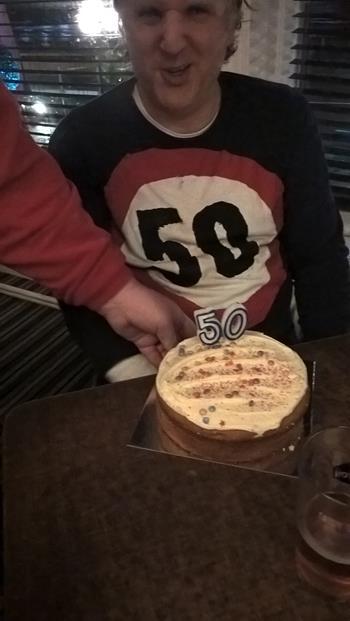 JOHN AND HIS CAKE