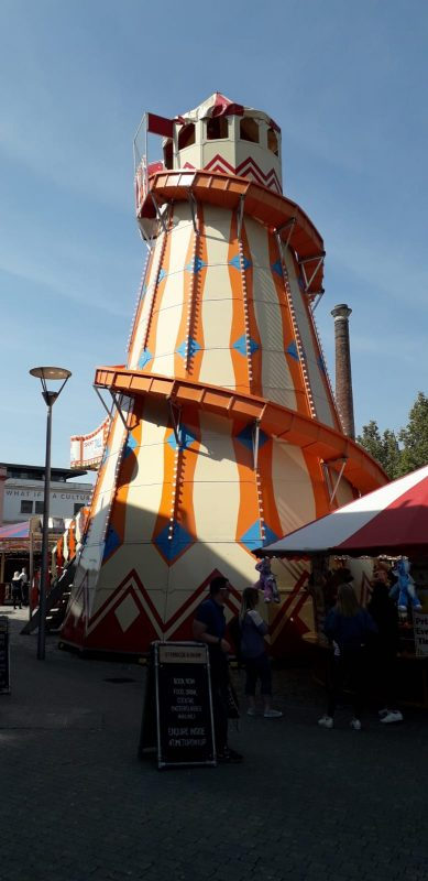 Helter Skelter - the members were too tall/old to go on this.