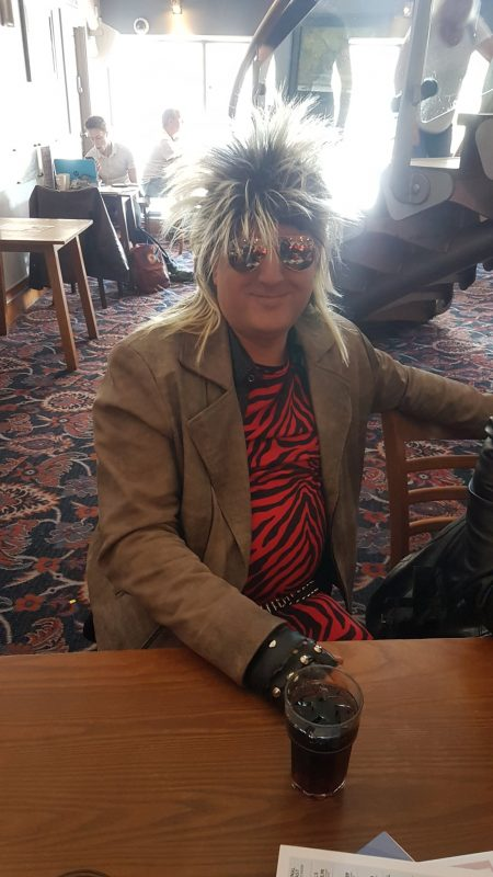 John in Wetherspoons where they went for lunch.