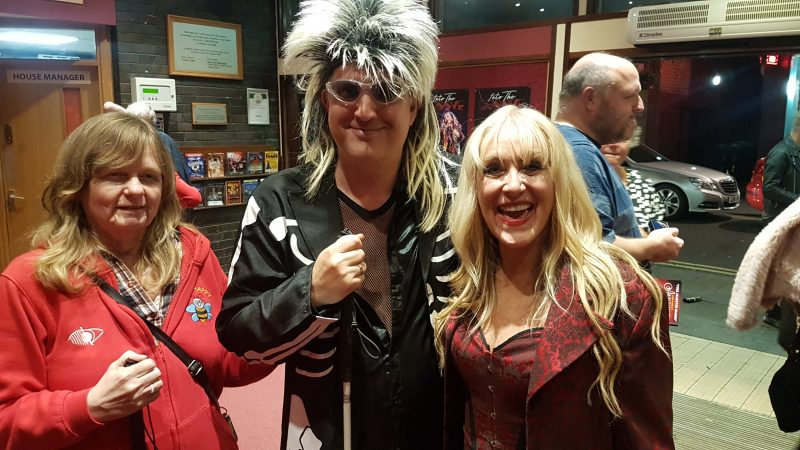 JULIE AND JOHN WITH LORRAINE CROSBY