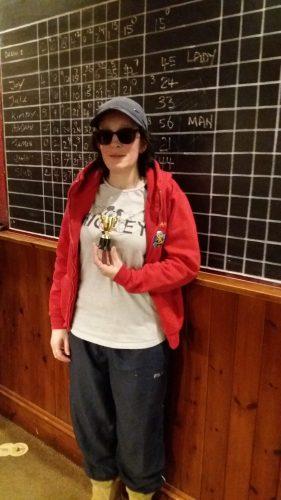 JOY HIGHEST FEMALE WINNER